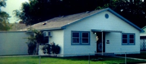 """1999 """"V"""" House with addition and cover over front porch"""